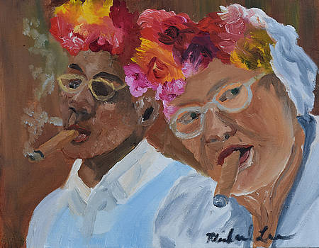 Cigar Lovers by Michael Lee