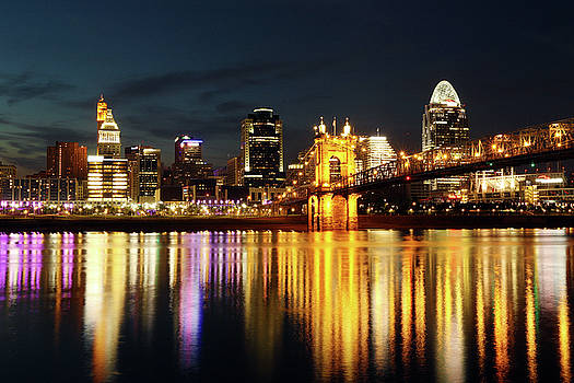 Cincinnati Dusk by David Yunker