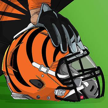 Cincinnati football by Akyanyme
