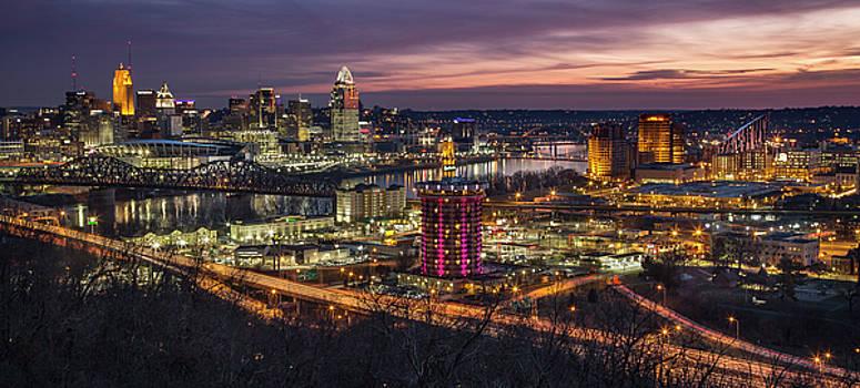 Cincinnati Sunrise by Greg Grupenhof