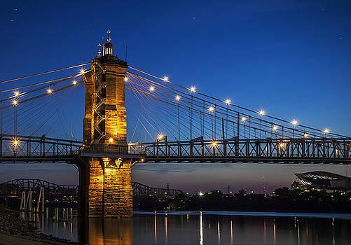 Cincinnati Suspension Bridge by Greg Grupenhof