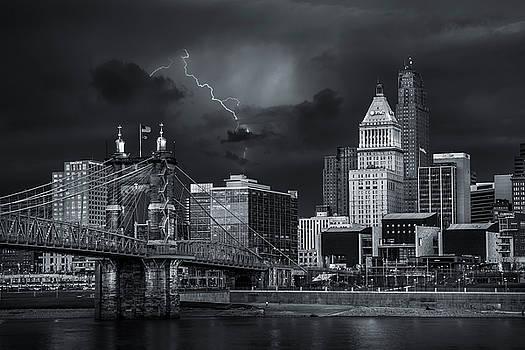 Cincinnati thunderstorm 2 by Greg Grupenhof