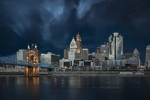 Cincinnati Thunderstorm 3 by Greg Grupenhof