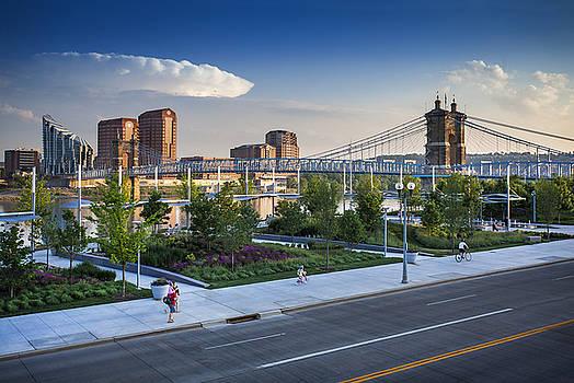 Cincinnati view by Greg Grupenhof