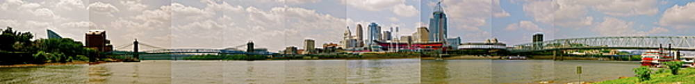 Cincy Skyline by Tina Valvano