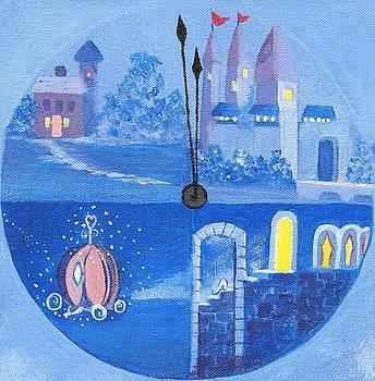 Cinderella, almost midnight by Barbara Unruh