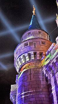Cinderella Castle Turret by Barkley Simpson