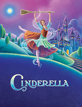 Cinderella Poster by Anne Wertheim