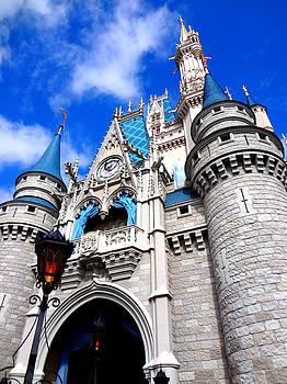 Cinderella's Castle XL iPhone Case by Katy Hawk