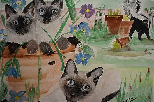 Cindy's Garden by Susan Snow Voidets
