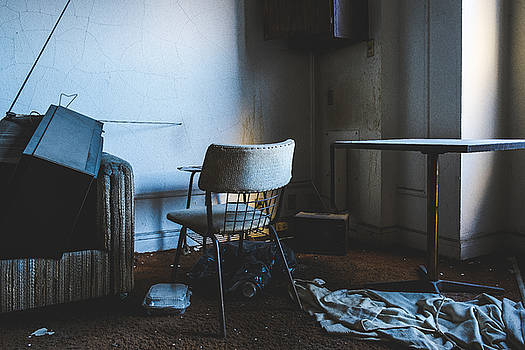 Cinematic Scene In Abandoned Hotel Room by Dylan Murphy