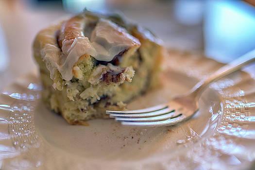 Cinnamon Bun for Breakfast by Rick Berk