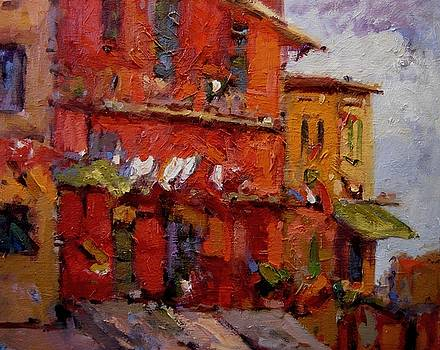 Cinque colors by R W Goetting