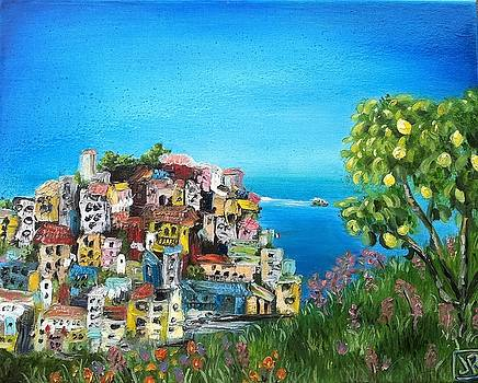 Cinque Terre by Julie Ross