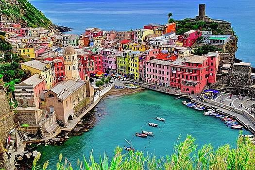 Frozen in Time Fine Art Photography - Cinque Terre Colors Galore