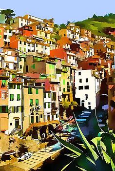 Cinque Terre  II by Gareth Davies