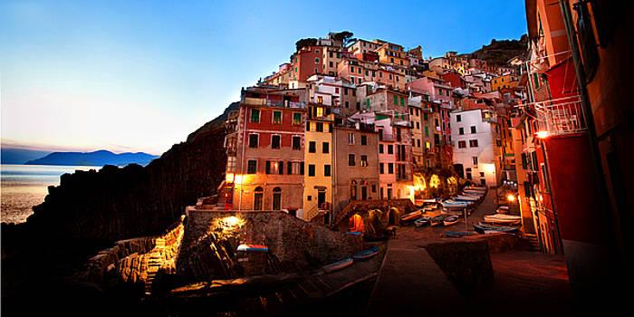 Cinque Terre Italy by Terri Roncone