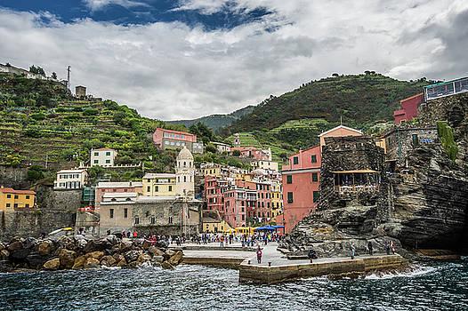 Cinque Terre Vernazza by Alida Thorpe