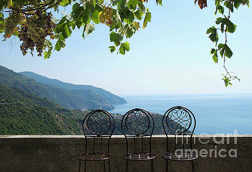 Cinque Terre View by Loriannah Hespe
