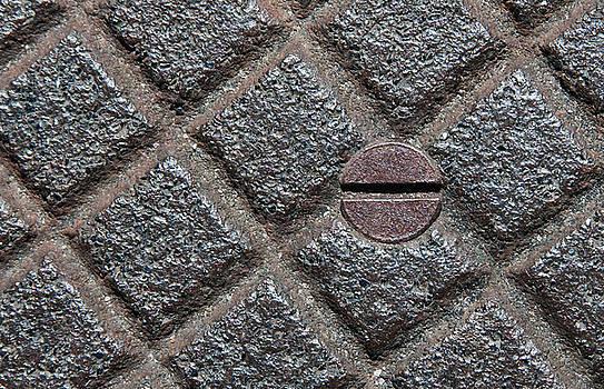 Circle And Squares by Dan Holm
