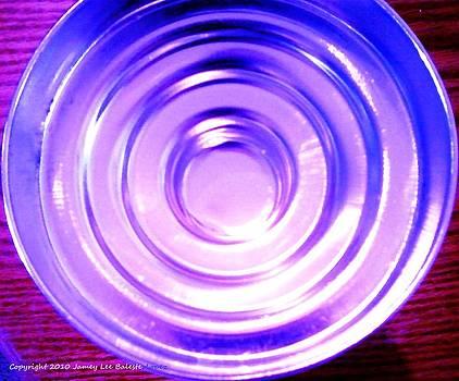 Circle Blue Reflectins by Jamey Balester