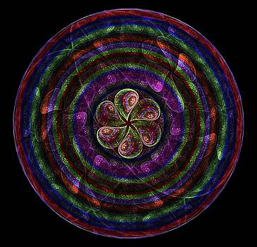 Circle Flower by Angie Tirado
