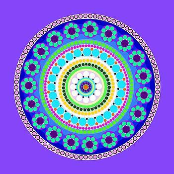Circle Motif 200 by John F Metcalf