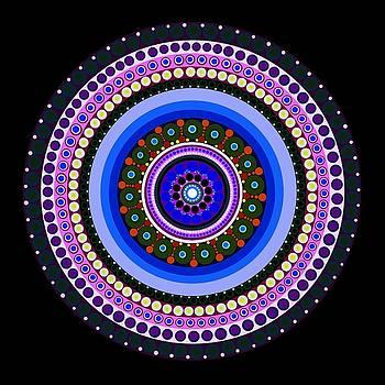 Circle Motif 234 by John F Metcalf