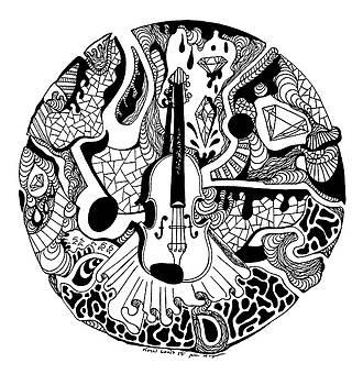 Circle of Strings by Kenal Louis