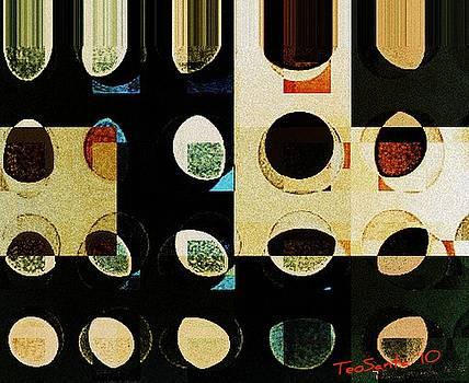 Circle Study number 10 by Teodoro De La Santa