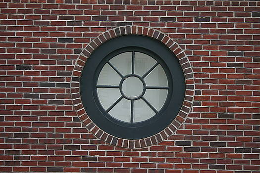 Circle window by Dennis Curry