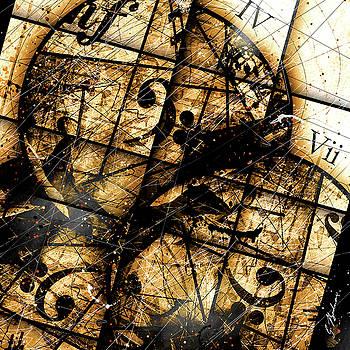 Circleladian Rhythms C I by Gary Bodnar