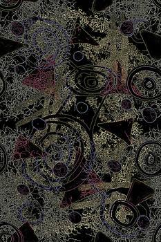Circles in Black by April Burton