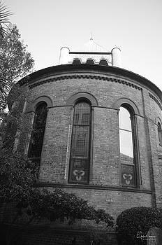 Circular Congregational Church BW 3 by Gordon Mooneyhan