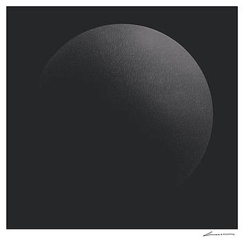 Circular Illumination Dark Gray by Luc Cannoot