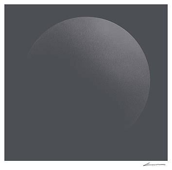 Circular illumination Gray Soft by Luc Cannoot
