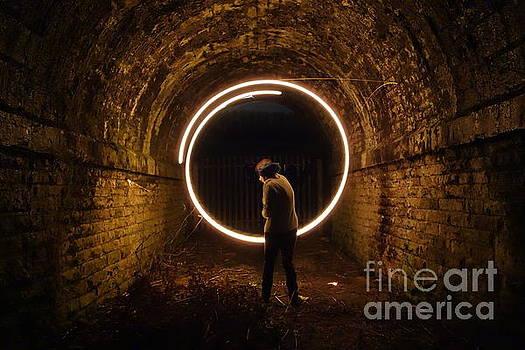Circular Light by C Lythgo