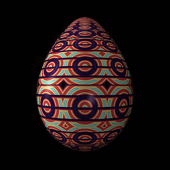 Hakon Soreide - Circular Ornament Egg
