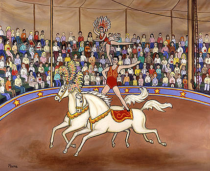 Linda Mears - Circus Bareback Riders