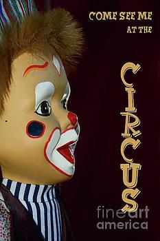 Circus Clown by Kaye Menner by Kaye Menner