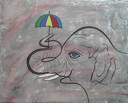Circus Elephant by Catherine Velardo