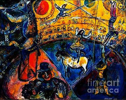 Marc Chagall - Circus Horse