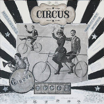 Circus I by Donine Wellman