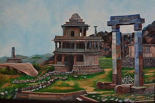 Cithradurga Fort by Usha Rai