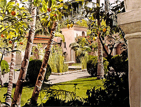 David Lloyd Glover - Citrus Courtyard