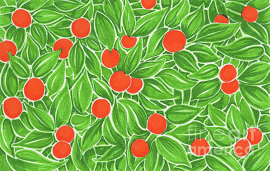 Citrus pattern by Cindy Garber Iverson
