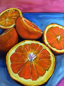 CitrusTumble by Mary Beth Harrison