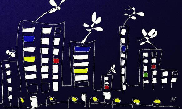 City by Agnes Karcz
