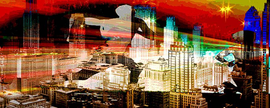 Mary Clanahan - City Art Cascade Run