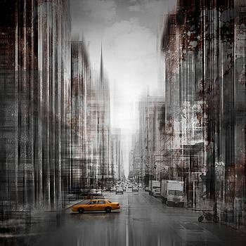 City-Art NYC 5th Avenue by Melanie Viola